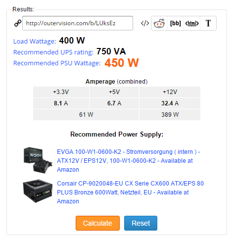 Instructions: How to calculate the power supply unit (PSU ...