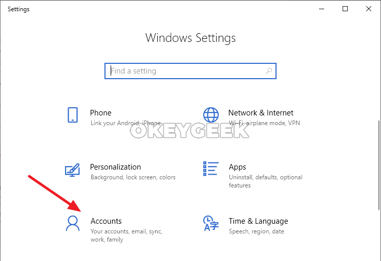 Instructions: How to disable a password while entering